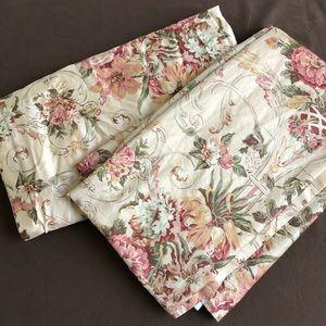 Ralph Lauren Vintage Grosvenor Floral Drapes Panel